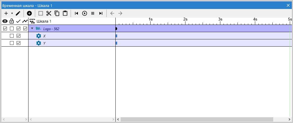 Панель шкал времени (Timeline Bar) в движке Construct 3